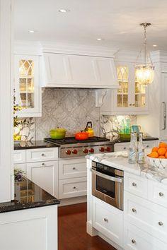 Classic White Kitchen Design Ideas, Pictures, Remodel and Decor