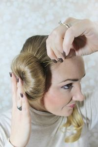 Halloween Hair Tutorial: Princess Leia Buns this is happening on opening day of star wars
