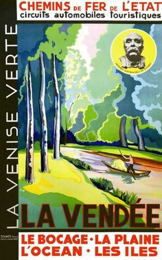 chemins de fer de l'état - La Vendée - La Venise Verte - 1931 - France -