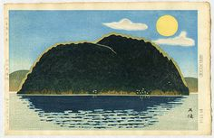 "Hagiwara Hideo ""Chibuku Island"" Great website with lots of HD japanese art"
