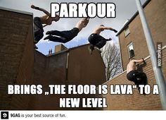 Parkour - This is my kid!