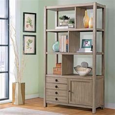 Riverside Furniture – Perspectives Bookcase Etagere