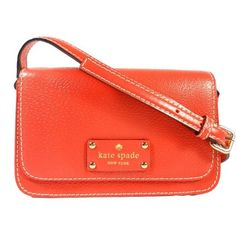 "Kate Spade 'Small Fynn Wellesley' Crossbody Bag Brand new with tags! Color: Empire Red. Dimensions: 4.7""H x 7.5""W x 2""D. Includes care card.  No trades. kate spade Bags Crossbody Bags"