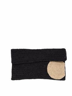 Pochette raphia Bulloa II - L'Atelier du crochet