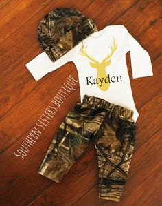 Camo baby girl clothes pink camo diaper cover personalized camo baby boy going home outfitbaby shower by southernsistersshop negle Image collections