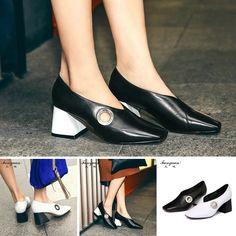 Pump - Belinda - $98.99 @shoesofexception #trendy #squareheels #women #pumps