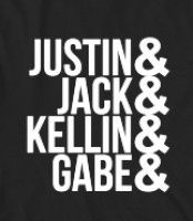 SLEEPING WITH SIRENS - Band names - Sleeping With Sirens is such a great band words can not describe. However, the band members' names will do just that. Get this shirt and show off...