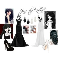 Jane the Killer's Prom Outfit