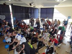 Spinningmarathon 28-3-2013 HealthCity Almelo - Team Deggie in strijd tegen kanker