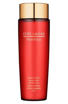 Estée Lauder 'Nutritious' Energy Lotion.  I don't know if this is the same as the serum that I used to buy. But the price is about the same.  It is not a premium line, but the Nutritious line has a pleasant pomegranate clean fragrance and light feel on the skin.  Easy on the pocketbook,  and works well, if not exactly dramatic results.
