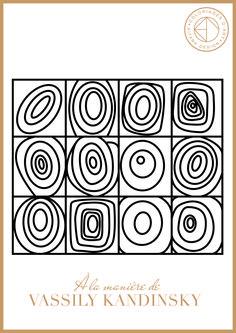 Les coloriages Histoire de l'art | Aïtana Design