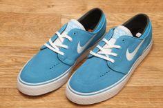 quality design b0276 96cbc Nike SB Zoom Stefan Janoski Vivid Blue   White   Black £64.95