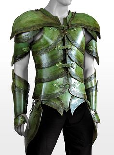 Elf Leather Armor leaf green, for anyone who wants to wear it