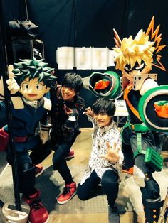 Midoriya and Bakugou seiyuu, ladies and gentlemen Cute Anime Chibi, Chiba, Voice Actor, Actors, Lady And Gentlemen, Boku No Hero Academia, My Hero, The Voice, Japanese