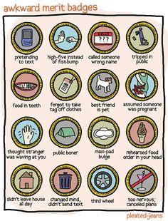 Alternative merit badges