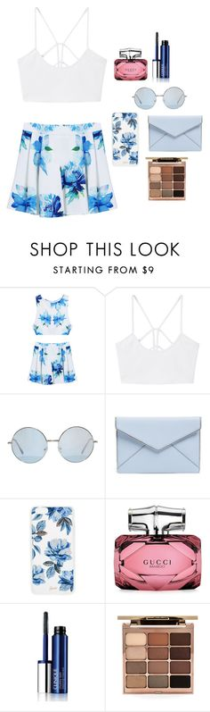 """w"" by ariel-1017 on Polyvore featuring MANGO, Rebecca Minkoff, Sonix, Gucci, Clinique and Stila"