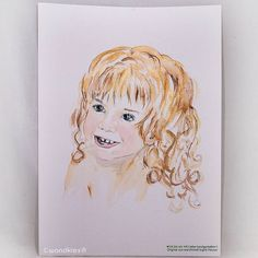 Mit wenig kann ein Kind ein unbefangenes Lächeln nachhaltiger verlernen als es fühlen zu lassen nicht so wie gewünscht zu sein.  So viel Leben und Lieben wird damit unmöglich gemacht. Bitte seid liebevoll barmherzig und zugewandt. .  Das Bild ist nicht mehr zu haben -  Auftragsarbeiten nach eigener Fotovorlage können über die Shops wandklex.etsy.com und wandklex.dawanda.com bestellt werden. .  Material : Schmincke Künstlerfarben Horadam auf @hahnemuehle Britannia 300g rauh  @wandklex…