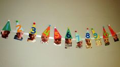 A Banner for My Son's First Birthday Party   Details on a Primary-Colored, DIY Party  First Birthday, Baby Boy, Birthday Banner, Month by Month, First Year, Mom Life, Boy Mom, DIY Party, DIY Birthday, Birthday Party, Party Idea