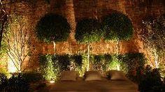 Resultado de imagem para iluminacao de parede verde