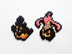 Pokemon X and Y Perler - Pumpkaboo / Gourgeist by ShowMeYourBits on deviantART