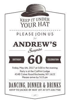Postcard Surprise Party Birthday Invitation | CatPrint Design #1035