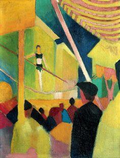 Tightrope Walker - August Macke (German)