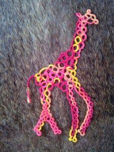 tatting http://www.janeeborall.freeservers.com/Giraffe.pdf