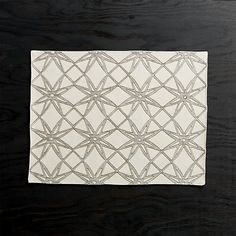 Spiro Stars Embroidered Placemat | Crate and Barrel