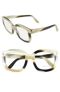 Tom Ford Bold 53mm Optical Frames available at #Nordstrom