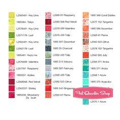 Splash Bali PopHoffman Fabrics - Jelly Rolls | Fat Quarter Shop