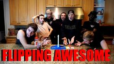 FLIPPING GAME TOURNAMENT WITH THE ROOMMATES! - YouTube