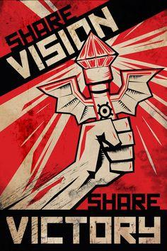 League of Legends Communist Propaganda by CurledPawCreatives