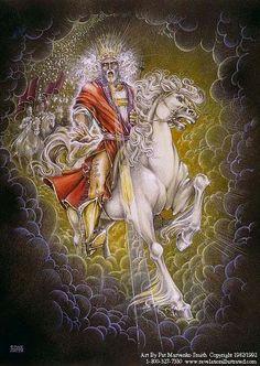 Jesus Christ on the White Horse