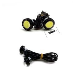 1Pcs Parking light 23mm Eagle Eye led car lights DRL Daytime Running Light 12V 9W Fog Tail LED Lamp Waterproof Reverse Lamp AG -  http://mixre.com/1pcs-parking-light-23mm-eagle-eye-led-car-lights-drl-daytime-running-light-12v-9w-fog-tail-led-lamp-waterproof-reverse-lamp-ag/  #ExternalLights