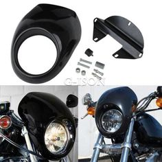 30835 motorcycle-parts Front Headlight Fairing Mask For Harley Davidson XL Sportster 1200 Custom  BUY IT NOW ONLY  $33.74 Front Headlight Fairing Mask For Harley Davidson XL Sportster 1200 Custom...