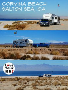 10 dollar a night dry camping with gorgeous views. Very  peaceful spot and lots of bird life in the winter. - http://www.loveyourrv.com/salton-sea-camping-corvina-beach/