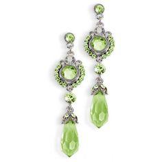 Anna Bellagio - Elizabeth Colored Crystal Earrings , $38.00 (http://www.annabellagio.com/elizabeth-colored-crystal-earrings/)