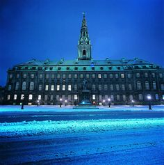 Christiansborg Castle, Copenhagen