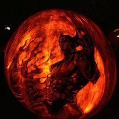 Epic Geek Pumpkin Carvings - Wolverine