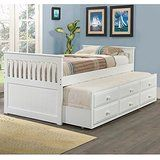 Donco Kids Captains Twin Trundle Bed deals week