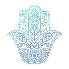 The Hamsa Hand - Spiritual Yoga Symbols and What They Mean - Mala Kamala Mala Beads