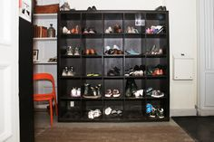 Place to put your shoes when you come into the hostel. Cosy environment to make you feel at home at the hostel.