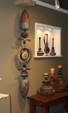 – Vases Home Decor Ideas Clay Wall Art, Ceramic Wall Art, Ceramic Clay, Clay Art, Ceramic Pottery, Pottery Art, Pottery Sculpture, Sculpture Art, Totem Pole Art