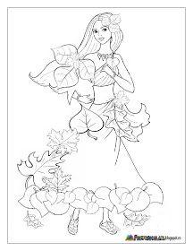 Fise de lucru - gradinita: Planse cu ZANA TOAMNA - Imagini de colorat Fall Coloring Pages, Coloring Sheets For Kids, Fairy Coloring, Coloring Books, Autumn Crafts, Autumn Art, Bird Template, Fall Art Projects, Art And Craft Videos
