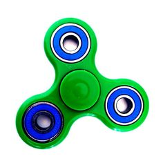Tri Fidget Spinner with High Speed Ceramic Bearings and High Quality ABS Build, Excellent for Fidgety Hands, Anxiety, Stress, ADHD, Autism, Quit Smoking.