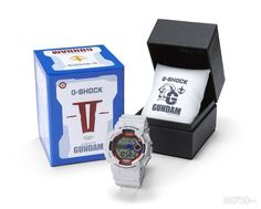 7ce2a02d6819 CASIO G-SHOCK GD-100 Mobile Suit Gundam 35th Anniversary BANDAI JAPAN