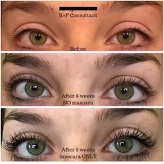 Every day I see another crazy before & after of naturally longer/fuller/darker looking lashes with Rodan + Fields Lash Boost!  Never wear extensions or falsies again! Message me for details or visit my online store. -Leah Armock, Rodan + Fields Consultant. larmockRF@gmail.com. 989-278-9676