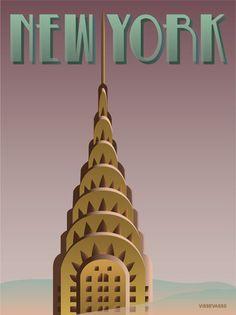 vissevasse plakat NEW YORK – ViSSEVASSE