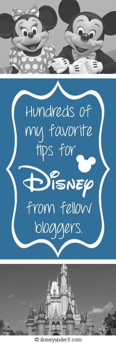 Disney Under 3 - Disney Tips from Fellow Bloggers