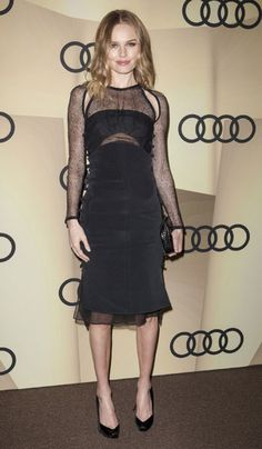 Kate Bosworth looking effortless in Emilio Pucci at the Audi Golden Globe 2013 Kick-Off Cocktail Party